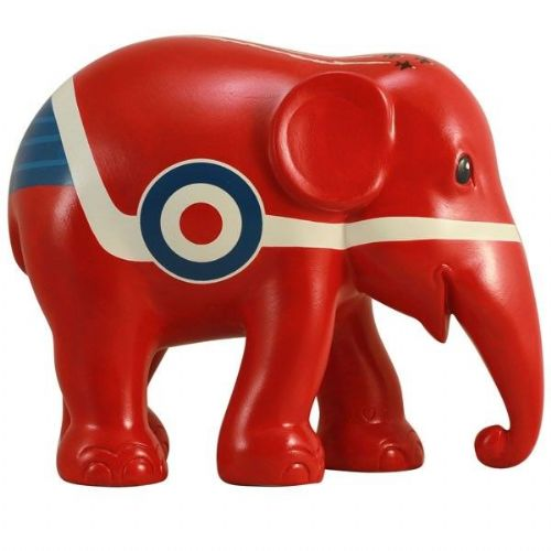 Red Arrow Elephant
